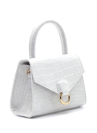 Derimod Kadın Çanta (2120) Klasik Beyaz